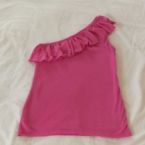 One shoulder top from inc.